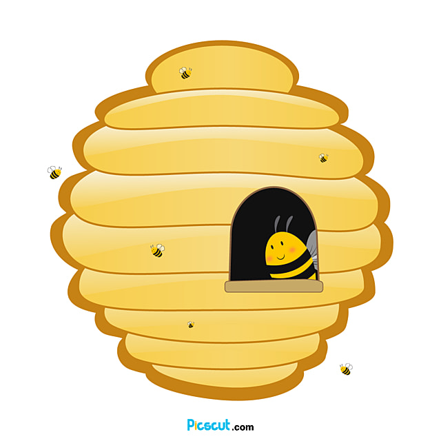 Beehive Clipart Longan Honey Bee Png Image For Free Download Picscut