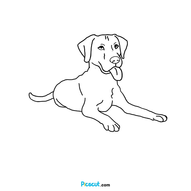 Labrador Clipart Pet Dog Clip Art Icon Stamp Png Image For Free Download Picscut