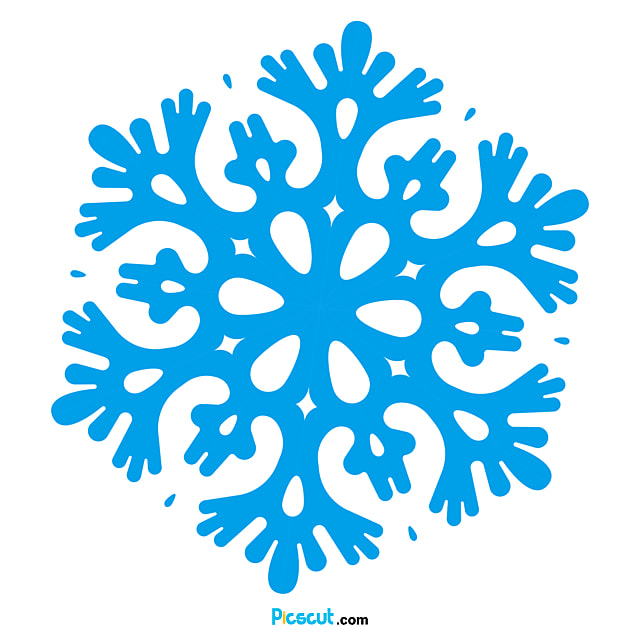 Snow Clipart Paper-cuts For Styleow Decoration Six Corners Paper Cutting Png