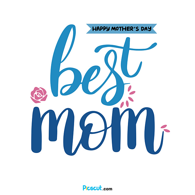 Blue Gradient Mother-s Day Svg Body Art Word Png