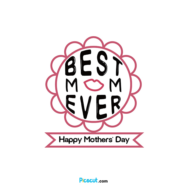 Mothers Day Thanksgiving Art Font Svg Png