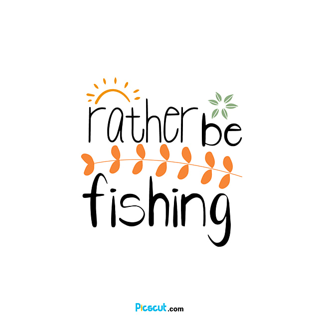 Download Svg Cartoon Black Branches And Leaves Illustration Would Rather Go Fishing English Letters Svg File And Png Image Free Download